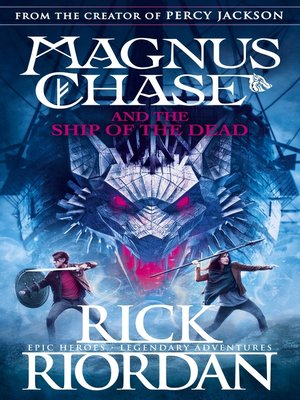 cover image of Magnus Chase and the Ship of the Dead